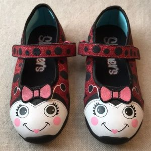 Sketchers Lady Bug Red Toddler Shoes 8 NEW